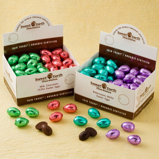 Whether you'd like to offer a big bowl of these sweet treats or you want ample chocolate eggs to last all Spring long, this 100-count Easter Egg Case ($62) will do the trick.
