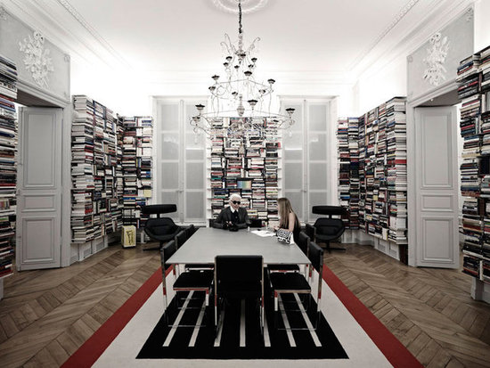 Karl Lagerfeld&#039;s Paris Apartment