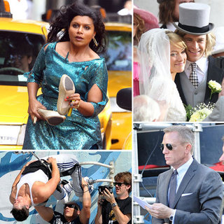 Celebrities on Set Pictures Week of April 1, 2012