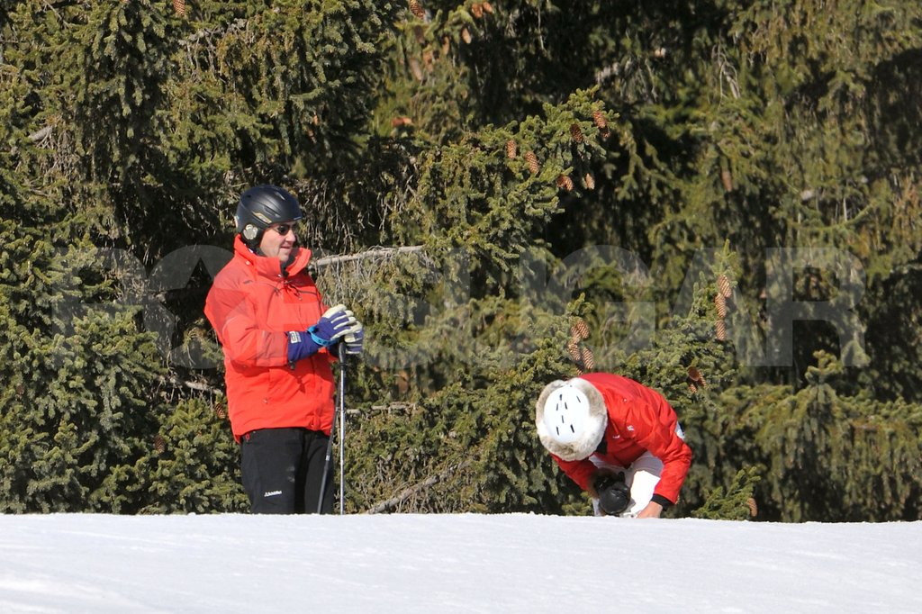 Michael Middleton and wife Carole Middleton took the family on a ski vacation to France.