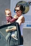 Miranda and Flynn Have a Midday Yoga Date