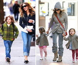 SJP Makes Multiple Fashionable School Runs With Her Three Kids