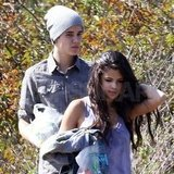 Justin Bieber and Selena Gomez ate lunch in LA.