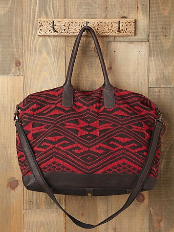 There isn't one thing we don't like about this weekender bag. Between its cool Aztec print and duffel shape, we can't wait to pack for Coachella. JADEtribe Capri Weekender ($250, originally $488)