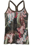The whimsy paisley print of this Pavitra Top ($49) has put it at the top of my must-have list for Spring workout gear!