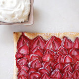 Puff Pastry Strawberry Tart