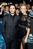 Brooklyn Decker and her Battleship costar Taylor Kitsch.