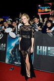 Brooklyn Decker Wears See-Through Black Lace For Battleship