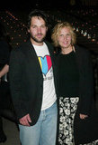Paul Rudd and his wife Julie Yaeger attended the May 2003 opening bash for the Tribeca Film Festival.
