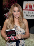 Lauren Conrad promoted The Fame Game.