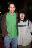 Paul Rudd caught up with Janeane Garofalo at a Nov. 2001 event in NYC.