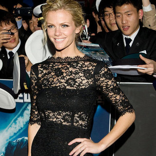 Brooklyn Decker Lace Dress Pictures at Battleship Premiere