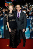 Brooklyn Decker and Peter Berg premiered Battleship.