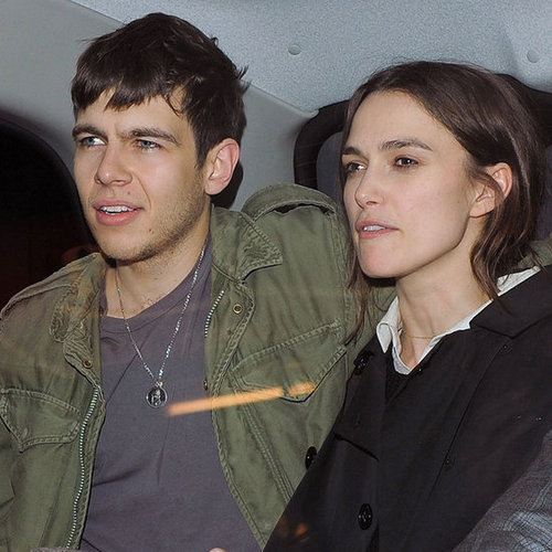 Keira Knightley Pictures in London With James Righton