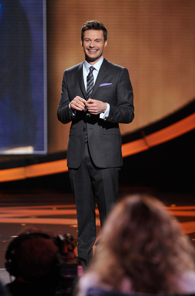 Ryan Seacrest resumed his hosting duties.