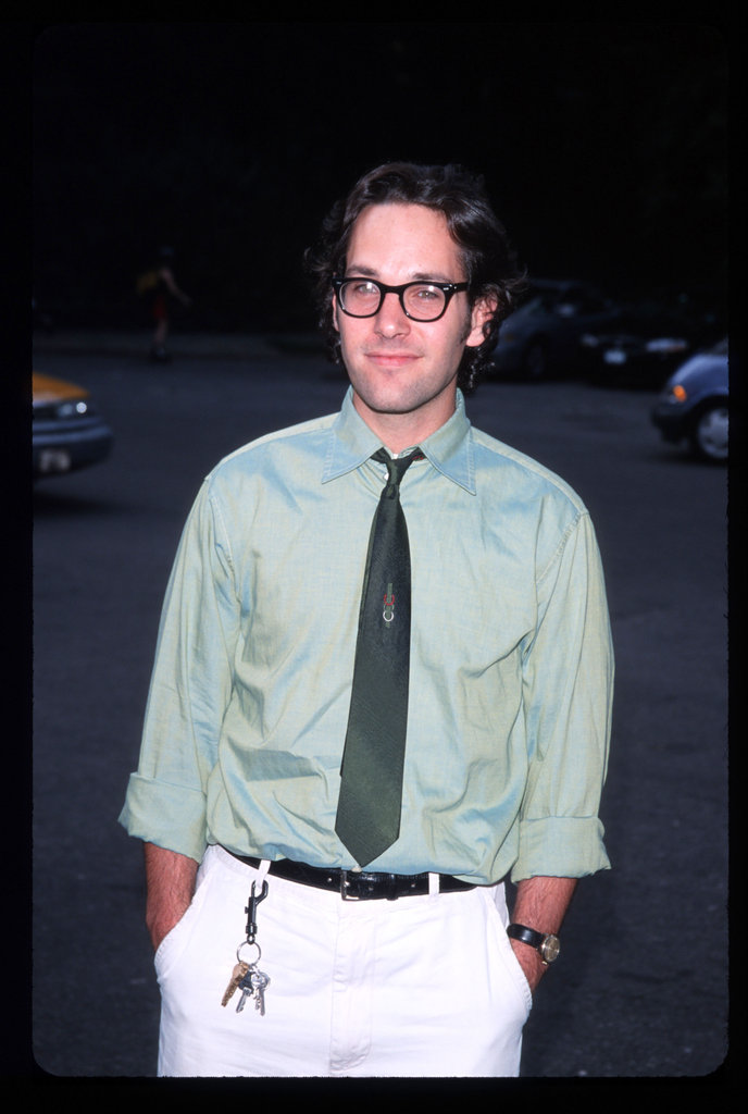 Paul Rudd checked out the June 1999 fundraiser for Fresh Air Fund in NYC.