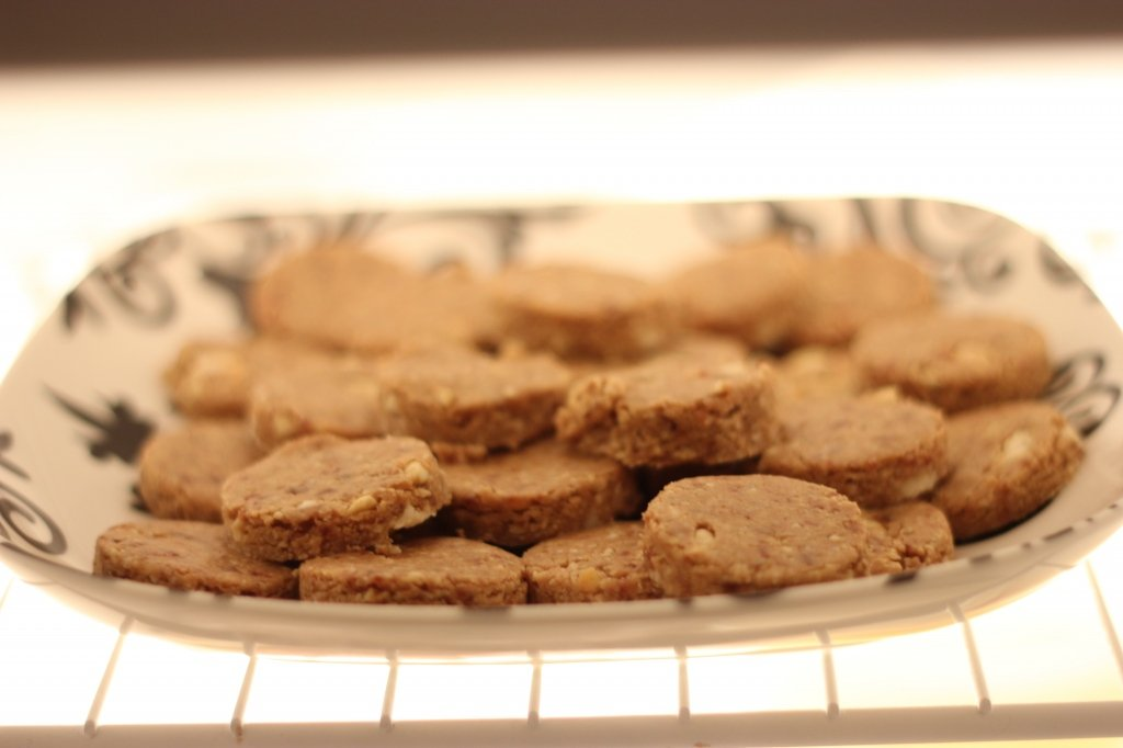 Raw Cashew Cookies
