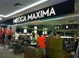 The new Mecca Maxima store under construction ahead of its opening this week in Wintergarden. QLD.