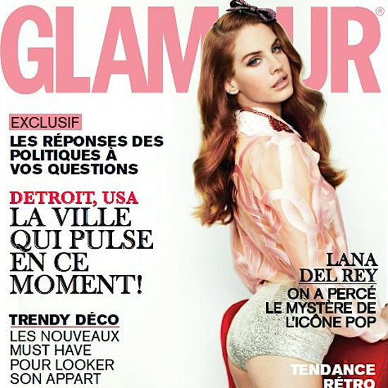 French Glamour Reused Lana Del Rey's Pictures From British Vogue
