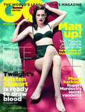Kristen Stewart lounged in a retro bikini on the cover of GQ UK's November 2011 issue.