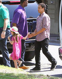 Tom and Katie Go Sightseeing With Suri and Connor in Baton Rouge