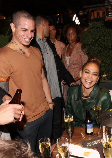 Jennifer Lopez Wraps Up a Sexy Show at a Party With Casper Smart