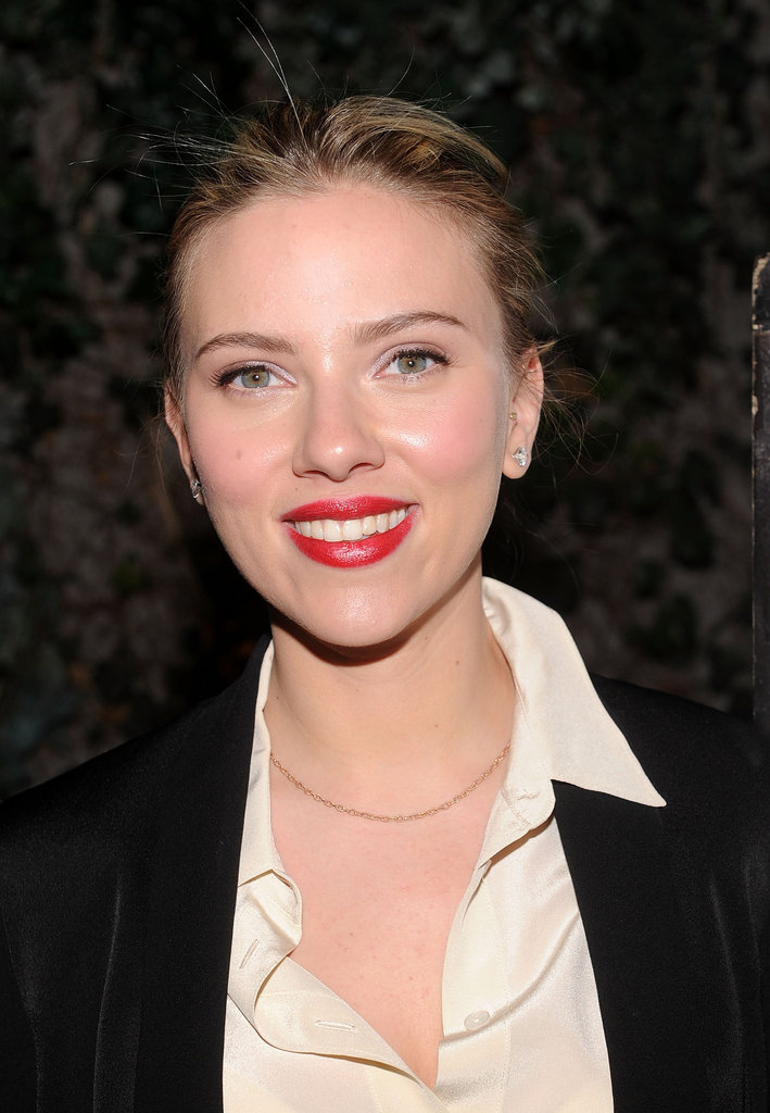Scarlett Johansson hosted a fundraiser for 2013 NYC mayoral candidate Scott Stringer at Manhattan's Maritime Hotel.