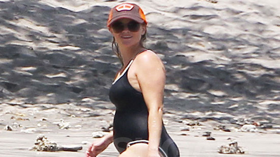 Video: Reese Witherspoon Shows Off Baby Bump in a Swimsuit!