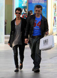 Halle Berry and Olivier Martinez were loved up in LA.