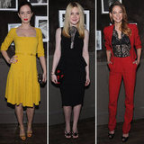 Emily Blunt and Dakota Fanning Link Up For Elie Saab