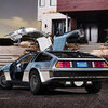 Electric DeLorean Pictures