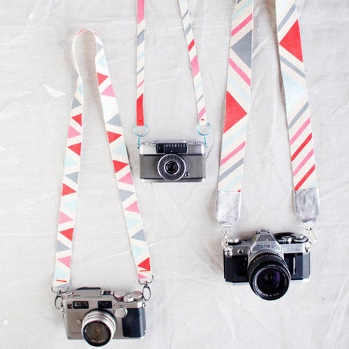 Painted Camera Strap DIY