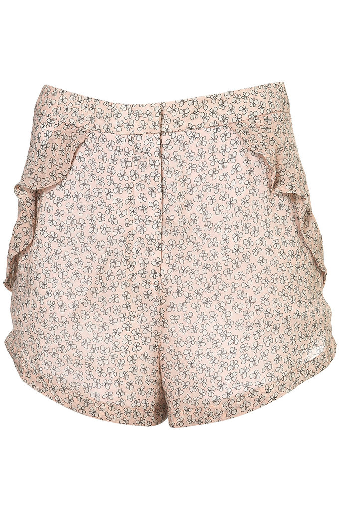 How adorable are these printed shorts? Add a sweet collared button-down, cardigan, and a pair of pretty wedges and you've got your Easter look made.  Topshop Floral Frill Pocket Shorts ($70)