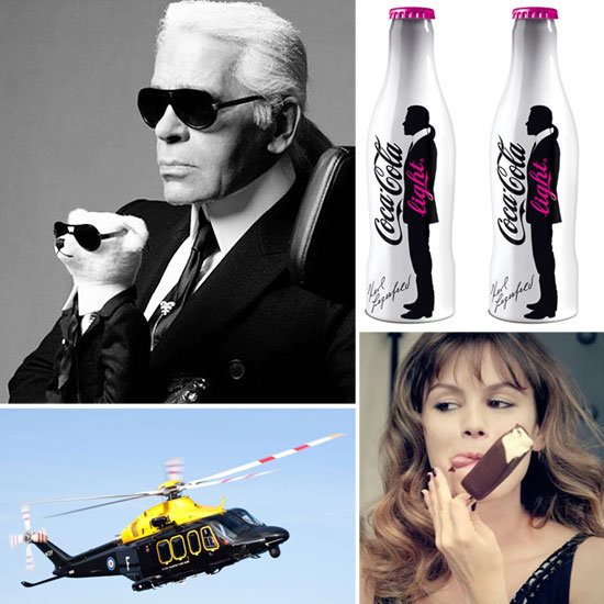 Karl Lagerfeld's Next Venture? Designing Helicopters. A List of His Most Interesting Pet Projects
