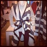 Aside from the sweets, Shopbop showcased gorgeous options for Fall, like this striped blanket wrap by Rag & Bone.