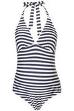 Topshop Maternity Stripe Swimsuit ($56)