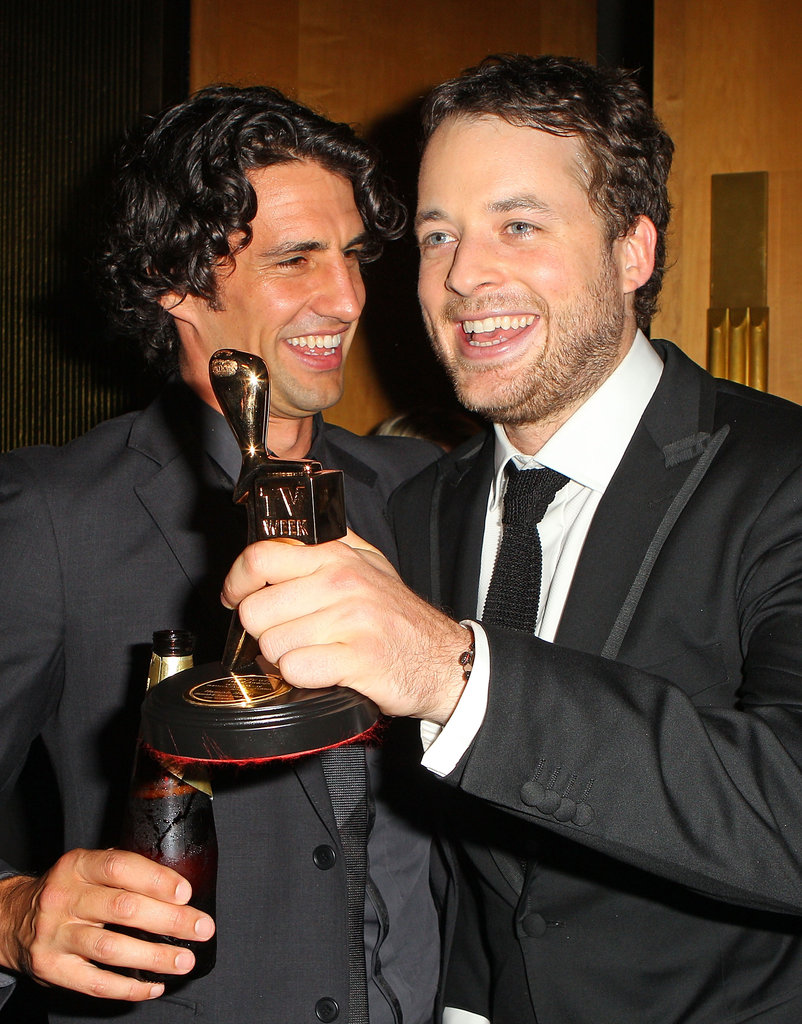 Andy Lee and Hamish Blake