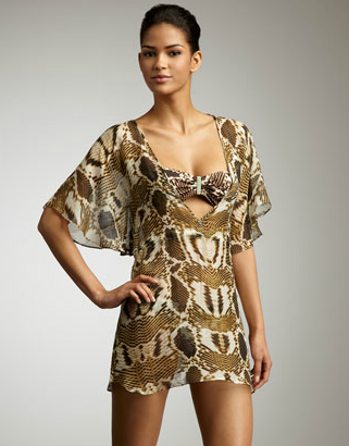 Vix Macau snake-print cover-up ($184)