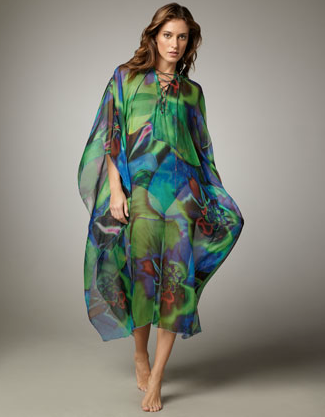 La Perla flower-print cover-up ($493)
