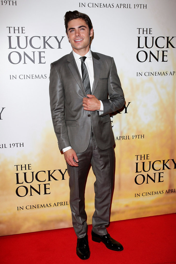 Zac Efron hit the red carpet solo.
