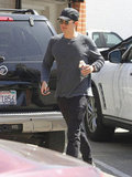 Orlando Bloom picked up juice in LA.