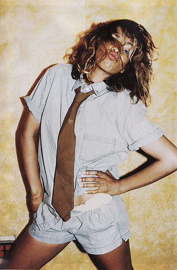 How cool does M.I.A. look in this Marc by Marc Jacobs Spring 2008 spread? She rocked a plethora of menswear-inspired pieces for the occasion.