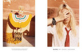 Here's another shot of Andrej Pejic in the Marc by Marc Jacobs Spring 2011 ads.