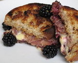 Blackberry Brie Panini