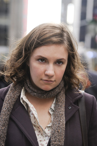 Lena Dunham in Girls. Photo courtesy of HBO