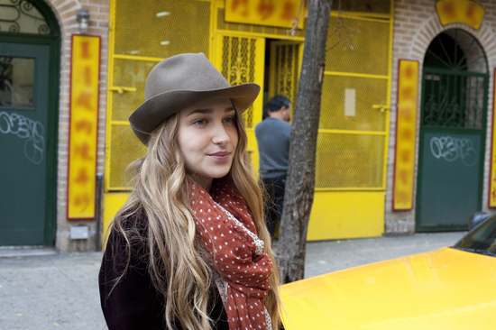Jemima Kirke in Girls.