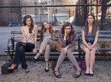 Allison Williams, Jemima Kirke, Lena Dunham, and Zosia Mamet in Girls.