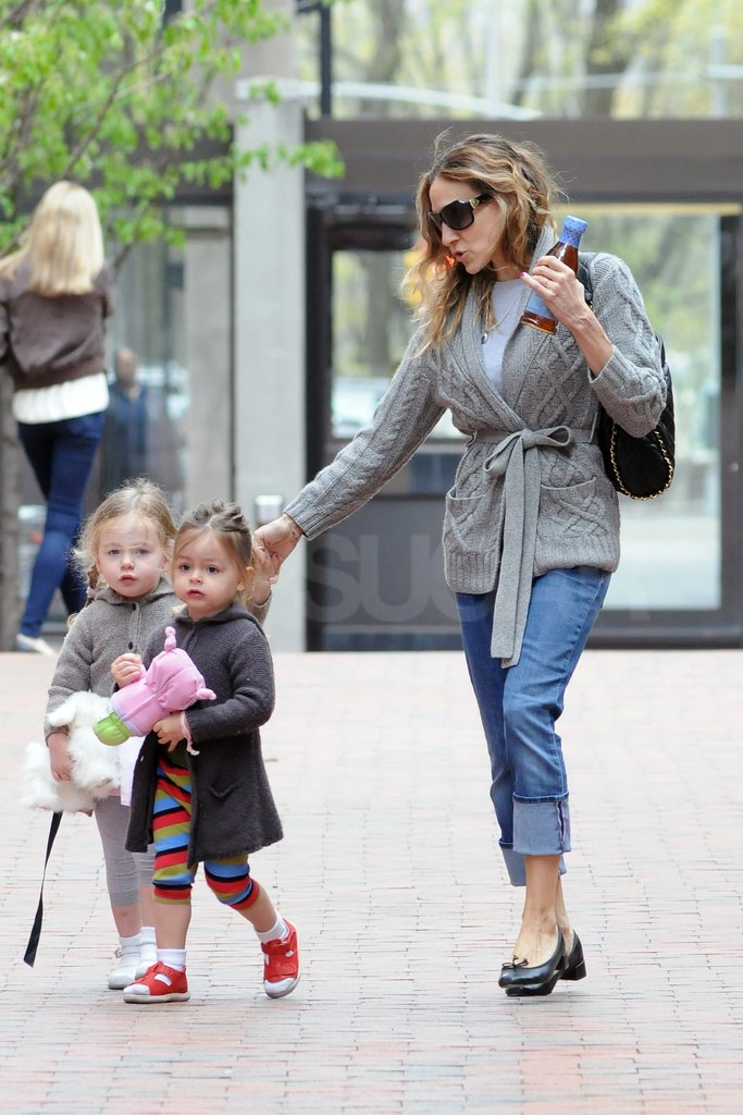 SJP Does the Big Apple School Run and Considers a Move to Brooklyn