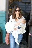 Lindsay Price and Curtis Stone Bring Baby Hudson Down Under
