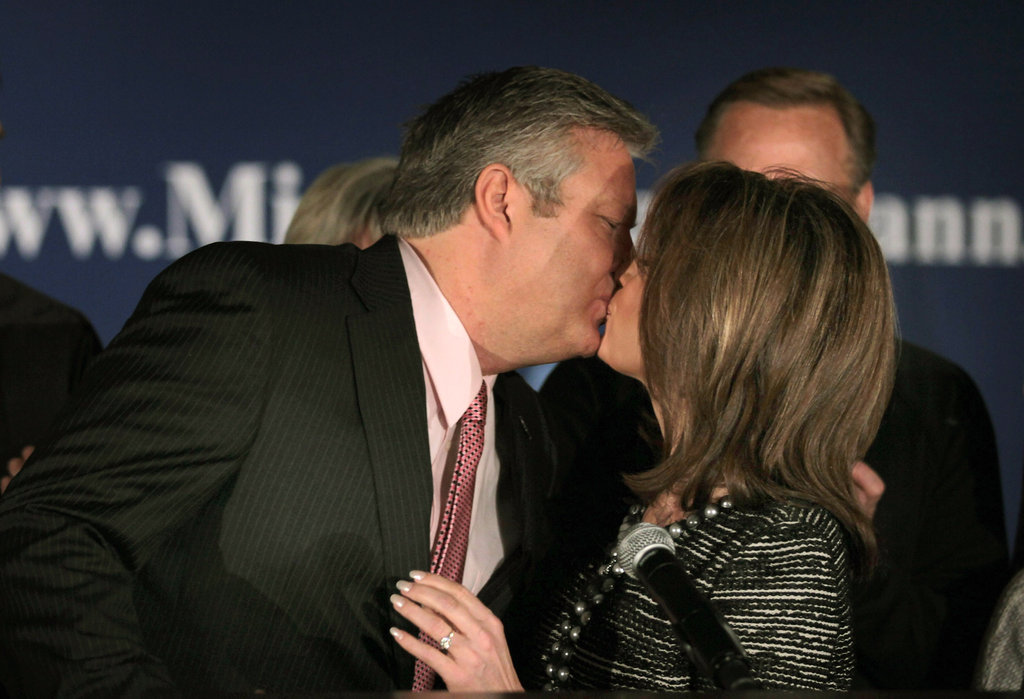 Michele Bachmann Asked If She's a Submissive Wife